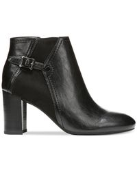 Franco Sarto | Black Deora Booties | Lyst