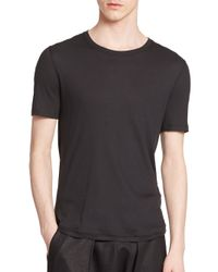 Helmut Lang | Black Thermal Tee for Men | Lyst
