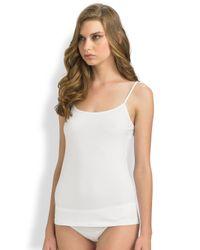 Hanro - White Cotton Sensation Camisole - Lyst