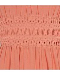 Hobbs | Orange Apollo Block Dress | Lyst