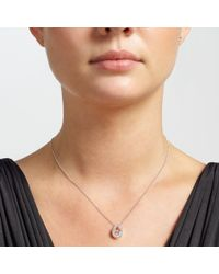 John Lewis | Metallic Sterling Silver Open Teardrop Necklace And Earrings Set | Lyst