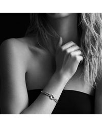 David Yurman - Metallic Albion Bracelet With Diamonds And Gold - Lyst