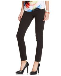 Eci - Black Pull-On Skinny Pants - Lyst