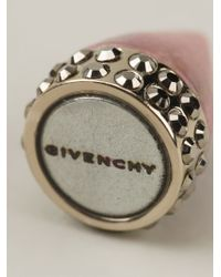 Givenchy | Pink Crystal Spike Magnetic Earring | Lyst