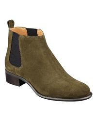 Nine West - Green Jara Pull-on Booties - Lyst