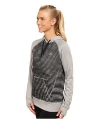 Adidas | Gray Ultimate Fleece Pullover Hoodie - Illuminated Screen Print | Lyst