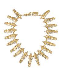 Auden - Metallic Prism Crystal Collar Necklace - Lyst
