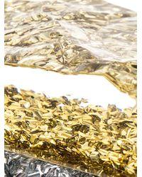 Edie Parker - Metallic Lara Backlit Confetti Box Clutch - Lyst
