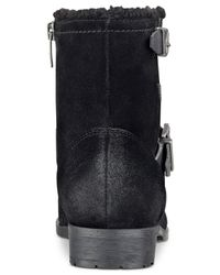 Marc Fisher | Black Nattaly Booties | Lyst