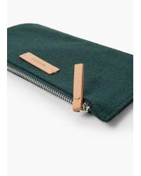 Mango | Green Wool-blend Cosmetic Bag | Lyst