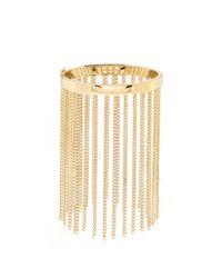 Chloé - Metallic Delphine Fringed Bracelet - Lyst