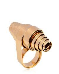 Noritamy - Metallic Crossroads Collection Ring - Lyst