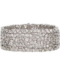 Monique Pean Atelier - Metallic Diamond Bracelet - Lyst