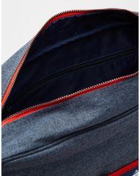 Original Penguin | Blue Riginal Penguin Messenger Bag With Colour Block for Men | Lyst