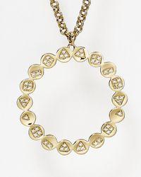 "Melinda Maria - Metallic Remy Pod Pendant Necklace, 32""L - Lyst"