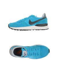 Nike - Blue Low-tops & Trainers - Lyst