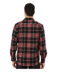 Woolrich | Red Bering Wool Plaid Shirt for Men | Lyst