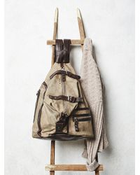 Free People | Brown A.s. 98. Womens Banjo Backpack | Lyst