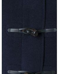 Gloverall - Blue Detachable Hood Duffle Coat - Lyst
