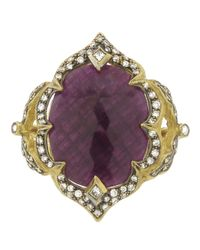 Cathy Waterman - Purple Arabesque Ruby Ring - Lyst