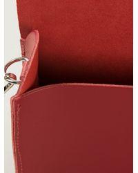 Cambridge Satchel Company - Red Push Lock Satchel - Lyst