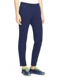 Ralph Lauren - Blue Lauren Active Zip Cuff Sweatpants - Lyst