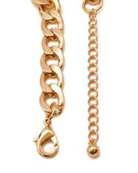 Forever 21 - Metallic Layered Rolo Chain Necklace - Lyst