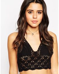 ASOS | Red Fine Festival Choker Necklace | Lyst