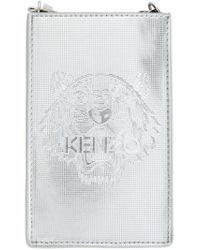 KENZO - 'tiger' Metallic Phone Case - Lyst