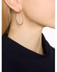 Fantasia Jewelry - Metallic Inside Outside Hoop Earrings - Lyst