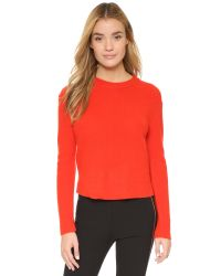 Rag & Bone | Red Alexis Cashmere Pullover | Lyst