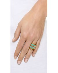 Pamela Love | Blue Pamela Love - Gold/Turquoise | Lyst