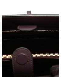 Burberry - Black 'saddle' Tote - Lyst