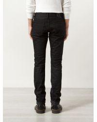 RRL - Black Slim Fit Jeans for Men - Lyst