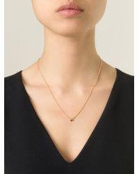 Puro Iosselliani | Black Garnet Ring Necklace | Lyst