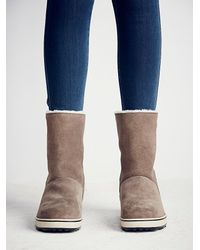 Free People | Natural Sorel Womens Glacy Pull On Weather Boot | Lyst