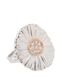 Buccellati - White Diamond Daisy Ring - Lyst