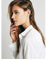Free People | Metallic Aeon Hair Rings | Lyst