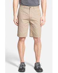 Patagonia | Natural 'all-wear' Organic Cotton Canvas Shorts for Men | Lyst