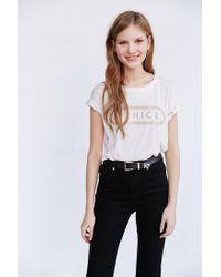 Truly Madly Deeply - White Venice Tee - Lyst