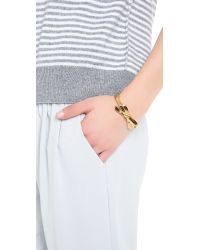 kate spade new york - Metallic Finishing Touch Bangle Bracelet - Lyst