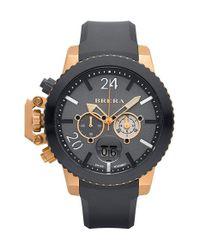 Brera Orologi - Gray Brera 'militare Ii' Round Chronograph Watch for Men - Lyst