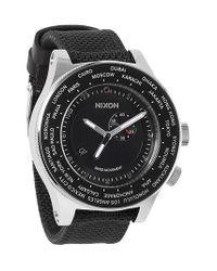 Nixon - Black 'the Passport' Watch for Men - Lyst