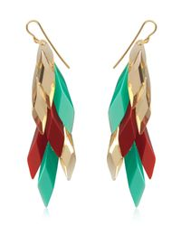 Silvia Rossi | Red Wisteria Earrings | Lyst