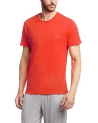 BOSS - Orange 'shirt Ssrn' | Cotton T-shirt for Men - Lyst