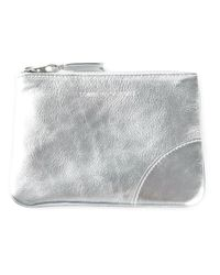 Comme des Garçons - Metallic Comme Des Garçons Wallet Silver Purse - Lyst
