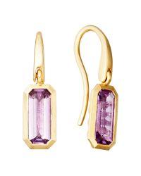 Astley Clarke - Purple Prismic Drop Earrings - Lyst