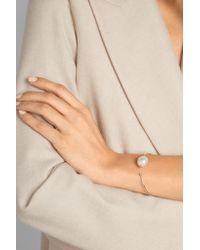 Mizuki - Metallic 14-karat Gold, Freshwater Pearl And Diamond Cuff - Lyst