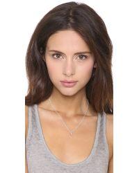 Helen Ficalora | Metallic Arrow Charm - Silver | Lyst