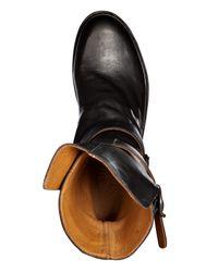 Fiorentini + Baker | Black Leather Biker Boots for Men | Lyst
